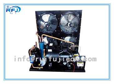 Water Cooling Refrigeration Condensing Units , Horizontal cold room condensing unit Black R22  4-30HP
